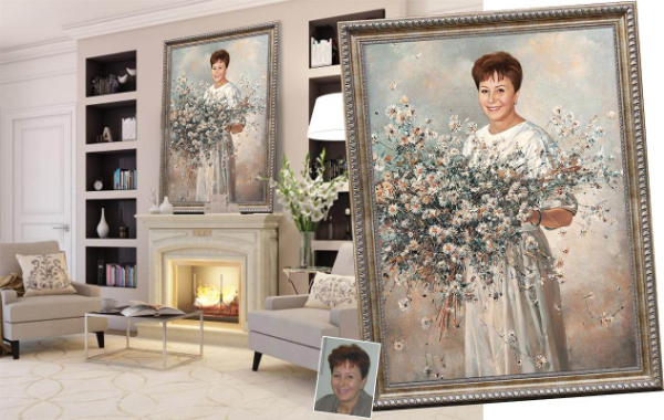 портрет в подарок