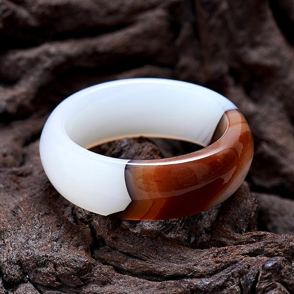 агат, кольцо
