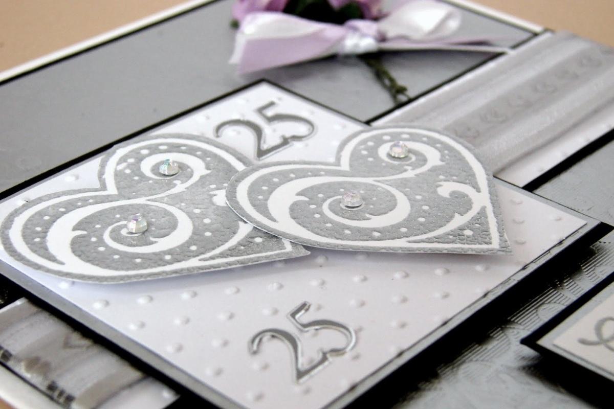 открытка на 25 лет свадьбы