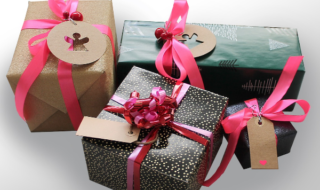 упакованные подарки