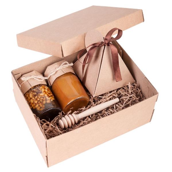 подарочный набор, мёд