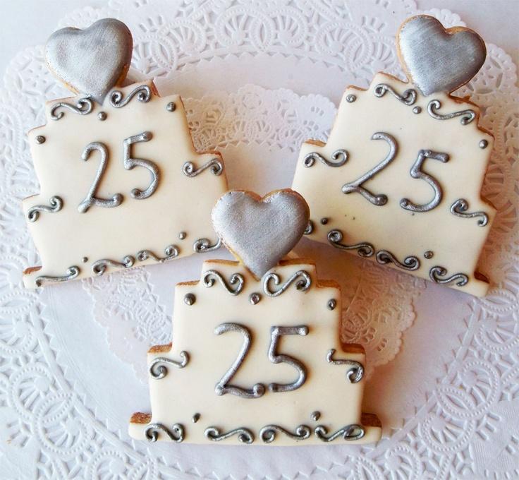 пряники на 25 лет свадьбы