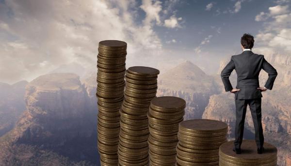 монеты и человек,успех