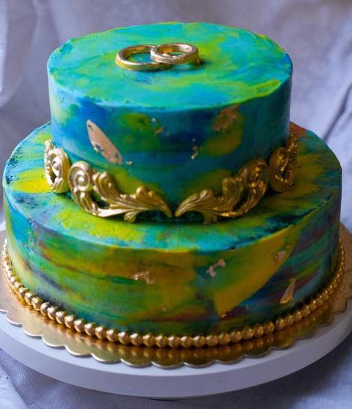 торт на опаловую свадьбу