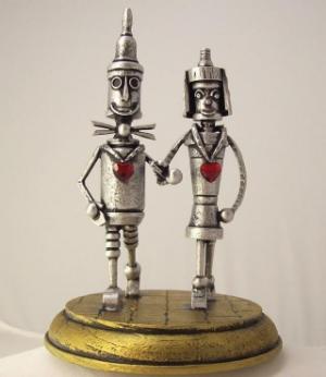 металлические фигурки