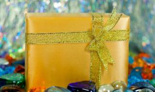 золотая коробка