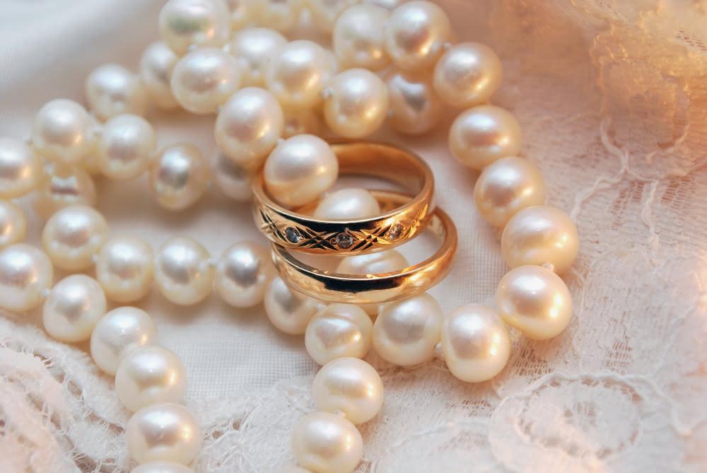 кольца и жемчуг