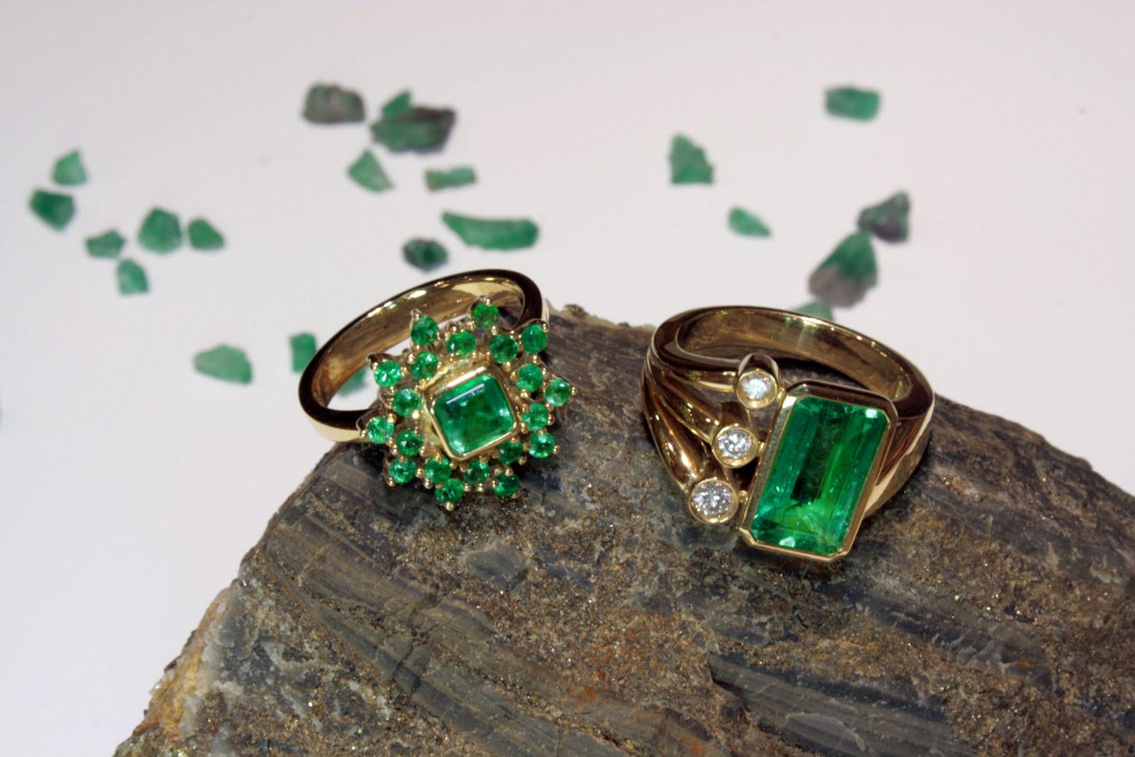 кольца с камнем
