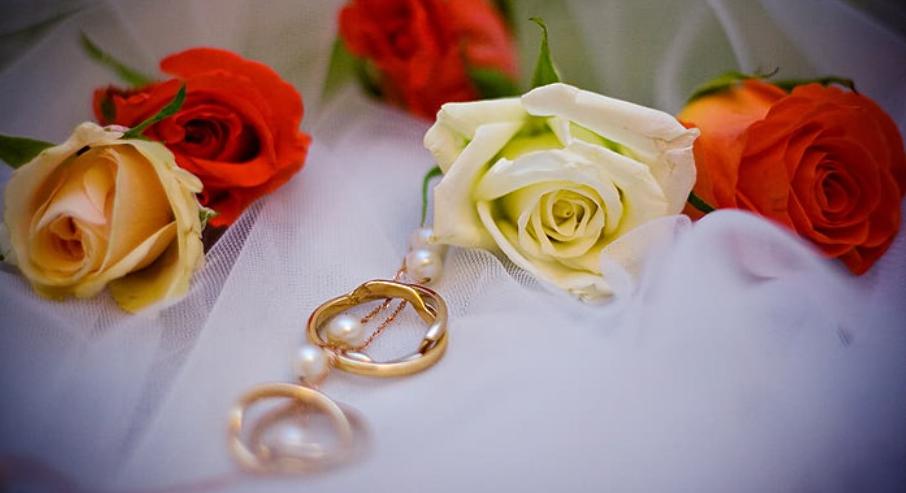 кольца с цветами