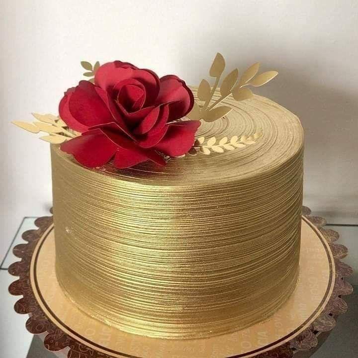 торт на бронзовую свадьбу