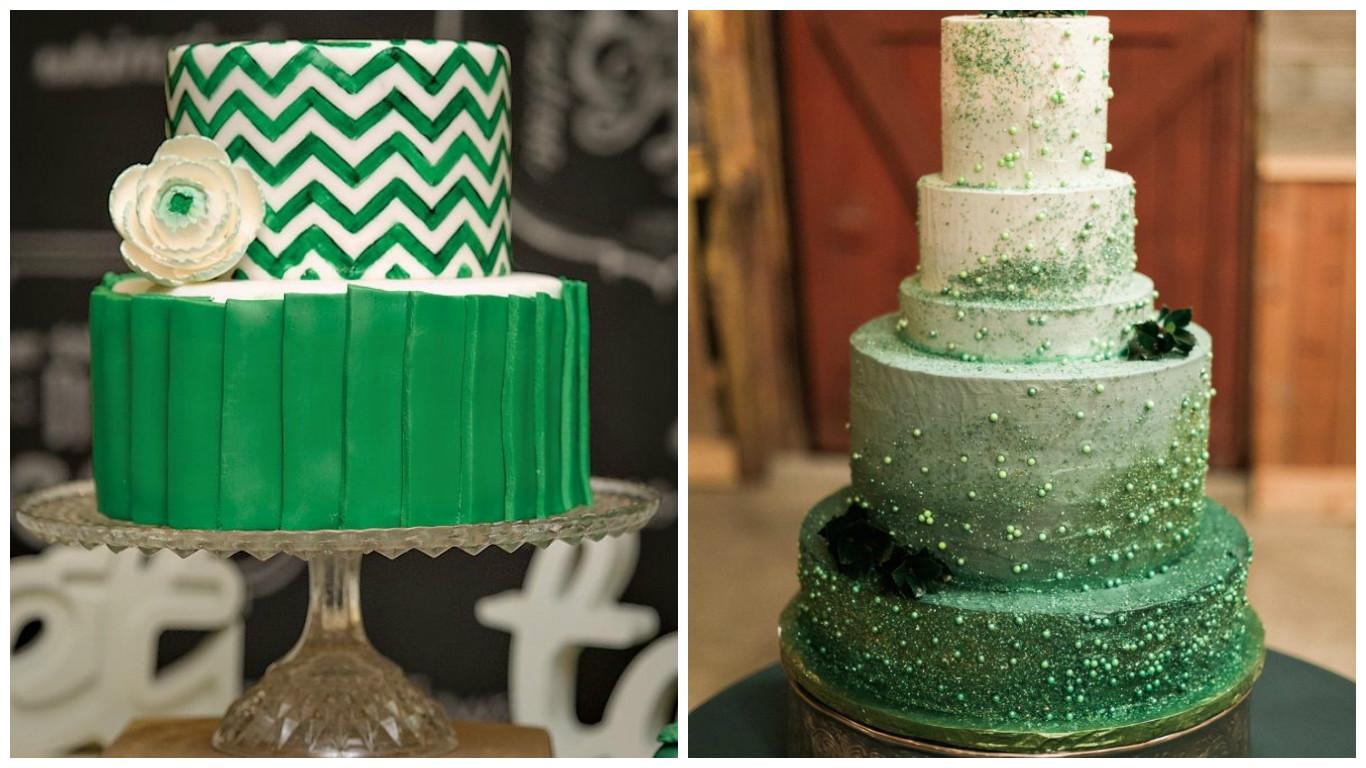 торт на берилловую свадьбу