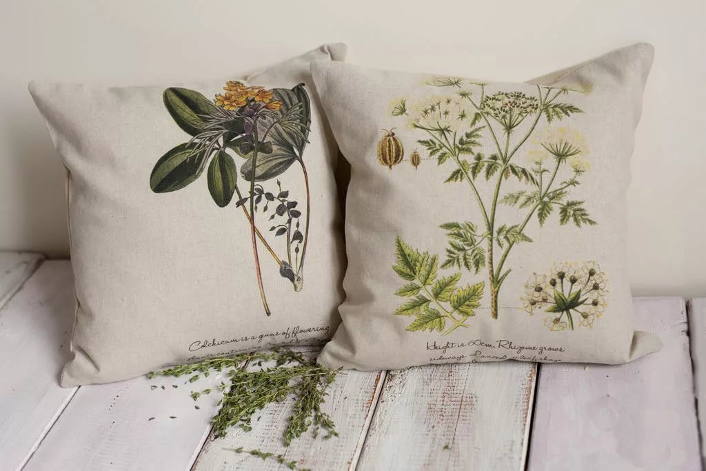 подушки с травами