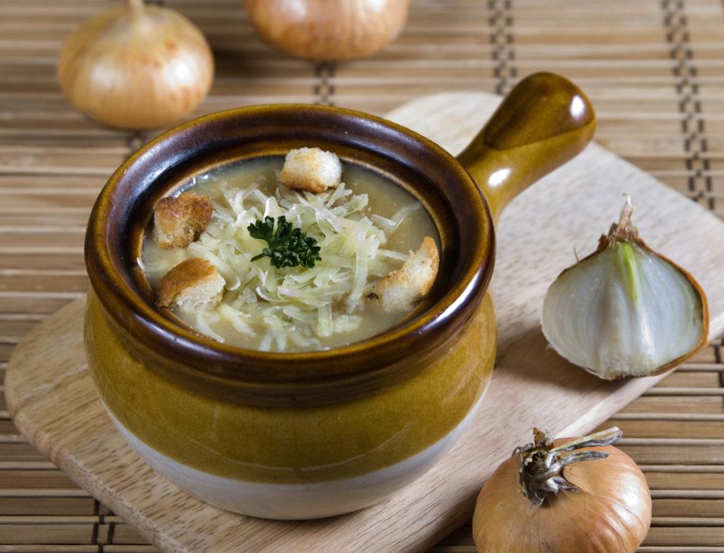 суп, лук
