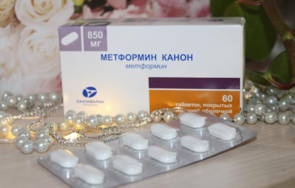 Средство для похудения метформин