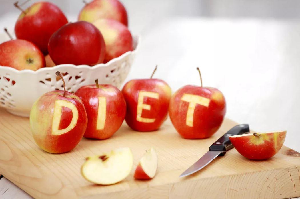 Яблоки а диете