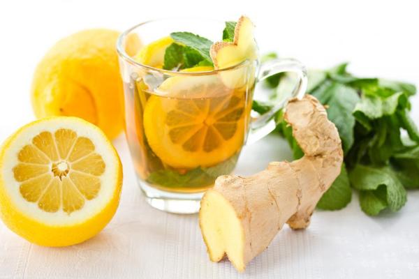 имбирь, мята, лимон