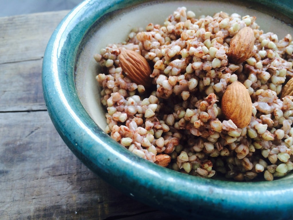 гречка с орехами