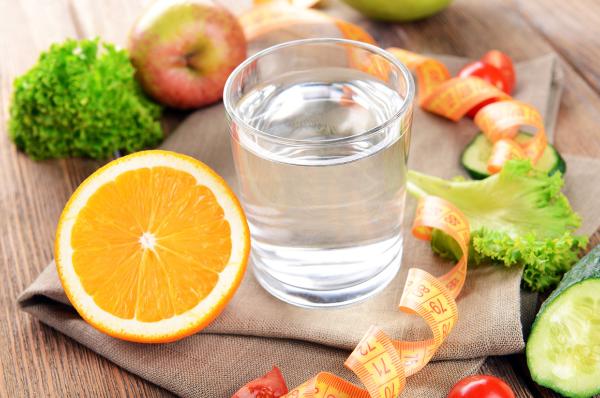 вода и продукты