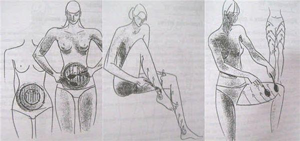 массаж ложками